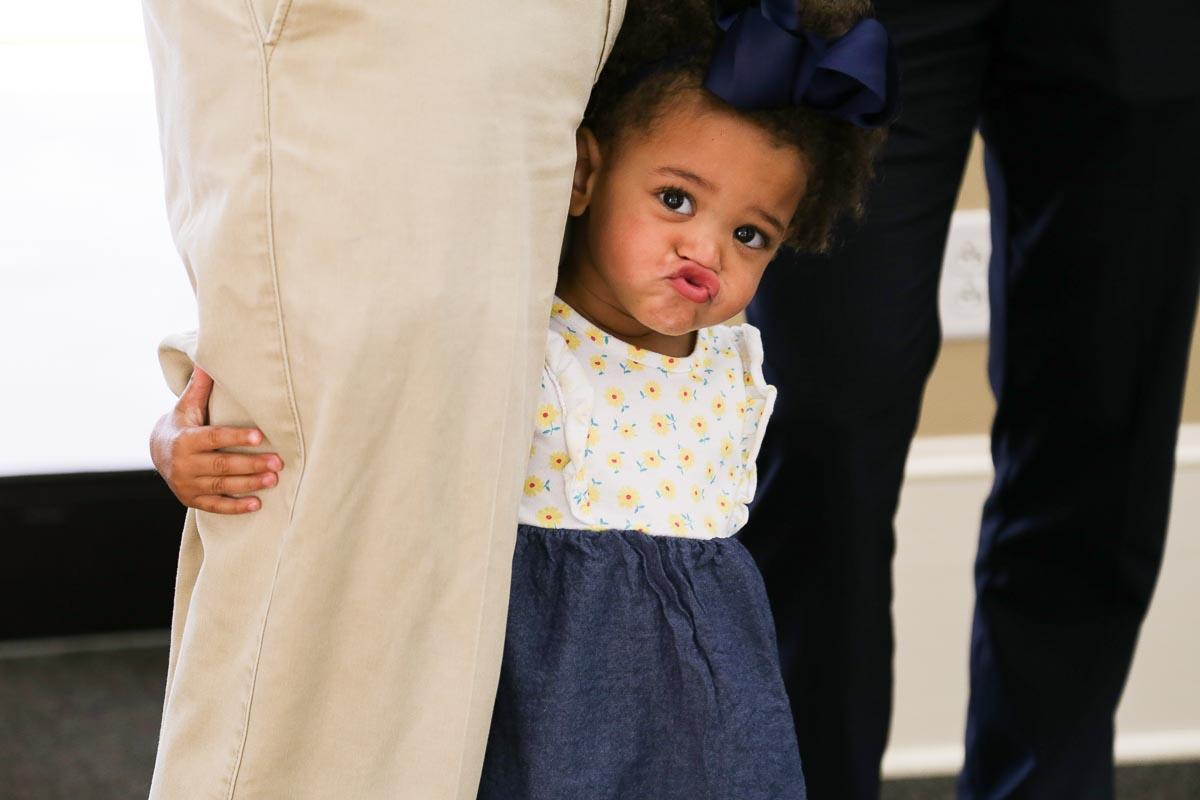 Goofy Little Girl